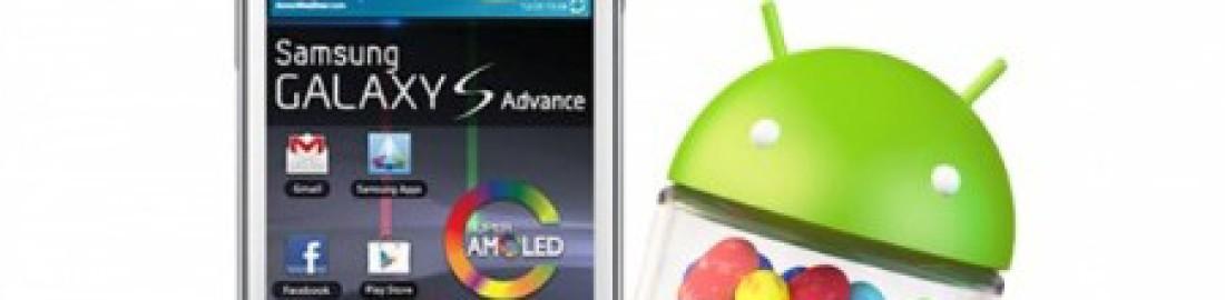 Galaxy S Advance: Aggiornamento ufficiale Android 4.1.2 no brand Italia (I9070XXLQG)